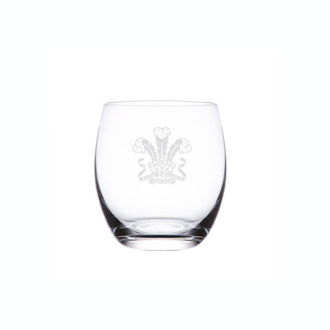 Highgrove Engraved Glass Barrel Tumbler