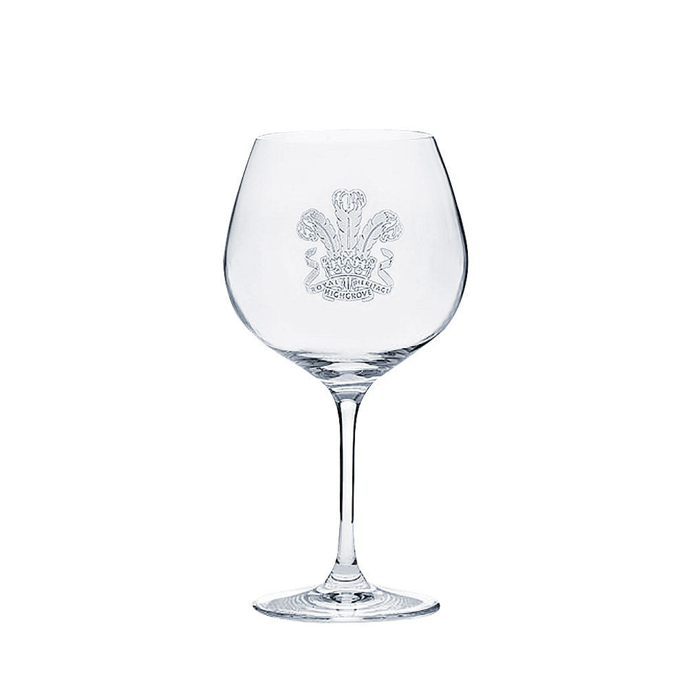 Highgrove Engraved Gin Glass
