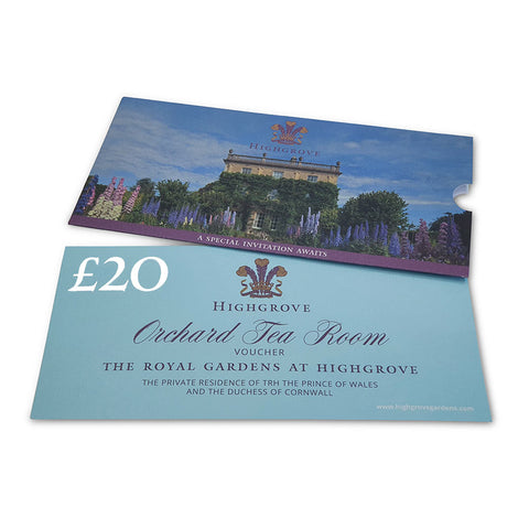 Highgrove Orchard Tea Room Voucher