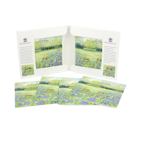 Late Spring Morning Notecard Wallet
