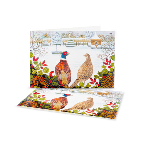 Highgrove Pheasants Christmas Cards (Pack of 10)