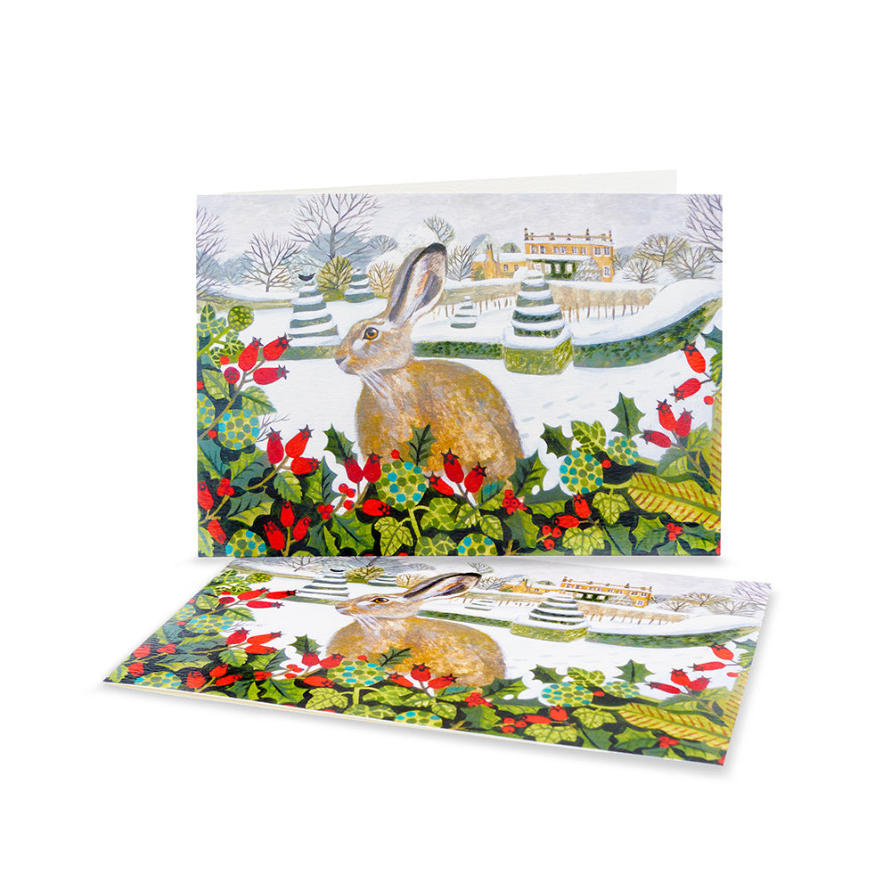 Highgrove Hare Christmas Cards (Pack of 10)