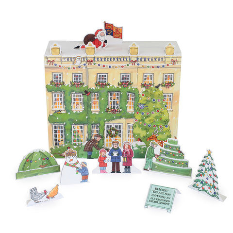 Highgrove House 3D Christmas Advent Calendar