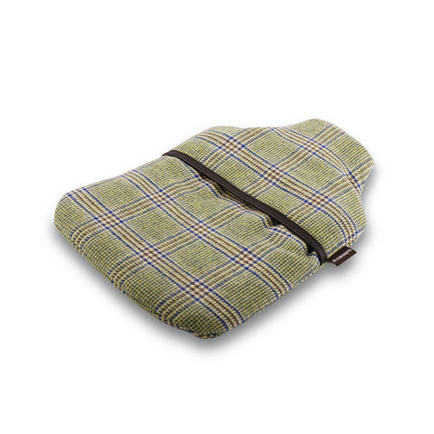 Prince of Wales Check Hot Water Bottle