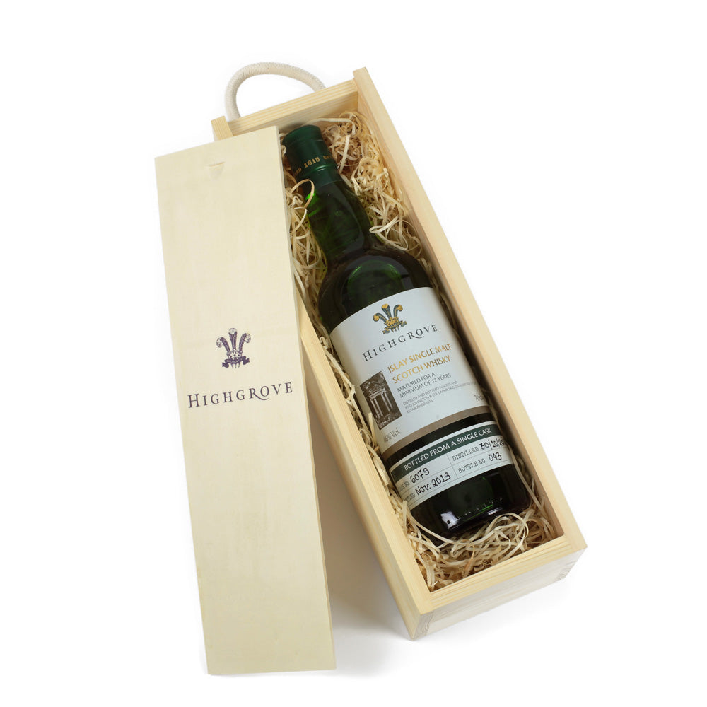 Laphroaig 12 Year Old  Single Malt Whisky (Gift Boxed)