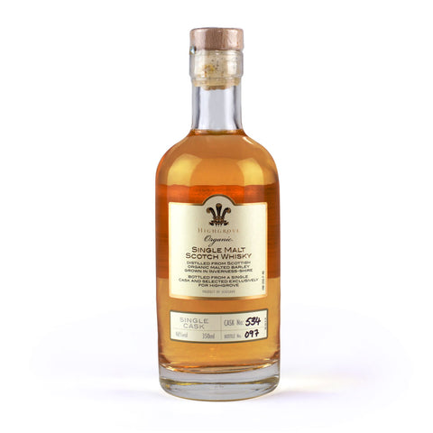 Highgrove Organic Single Malt Scotch Whisky, 350ml