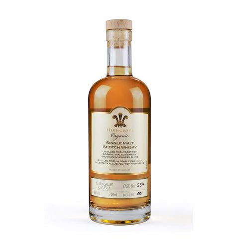Highgrove Organic Single Malt Scotch Whisky, 700ml