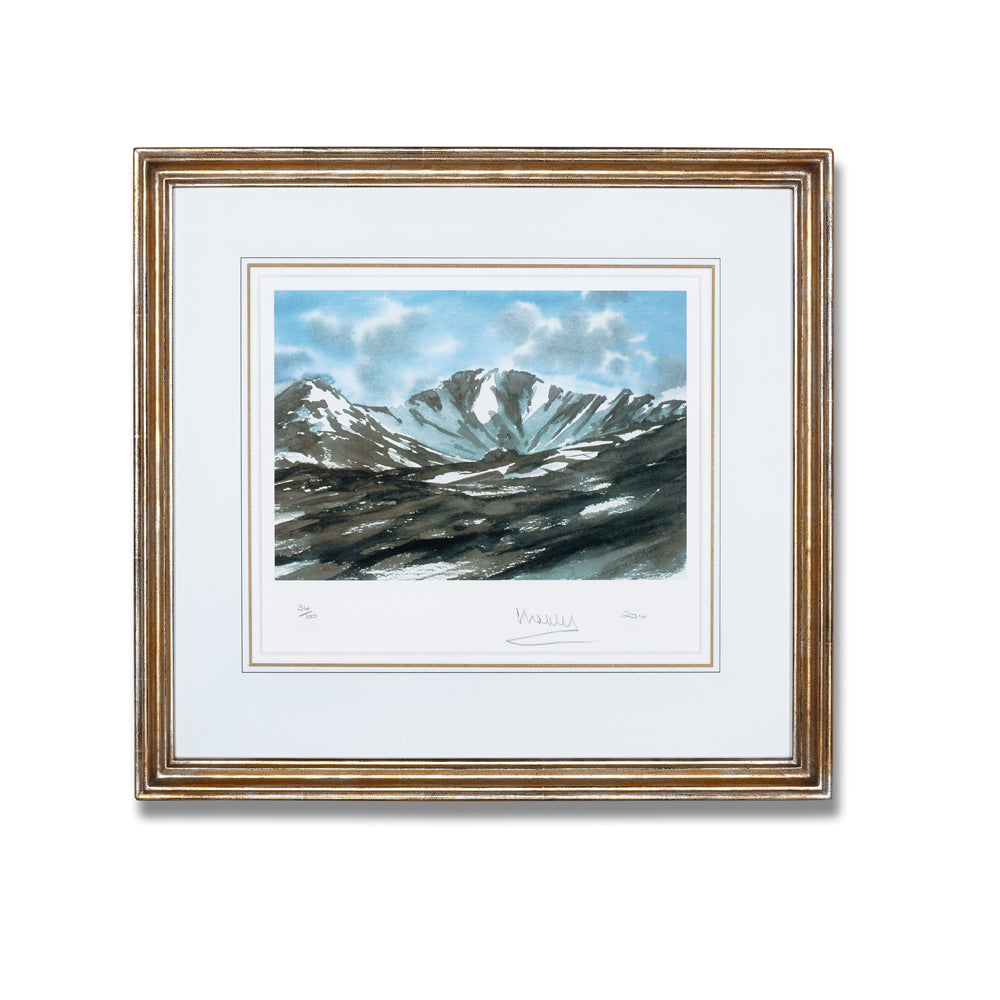 'Lochnagar' Limited Edition Framed Lithograph