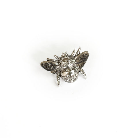Pewter Bee Pin Badge