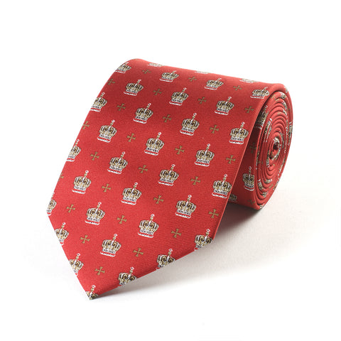 Red Crown Tie