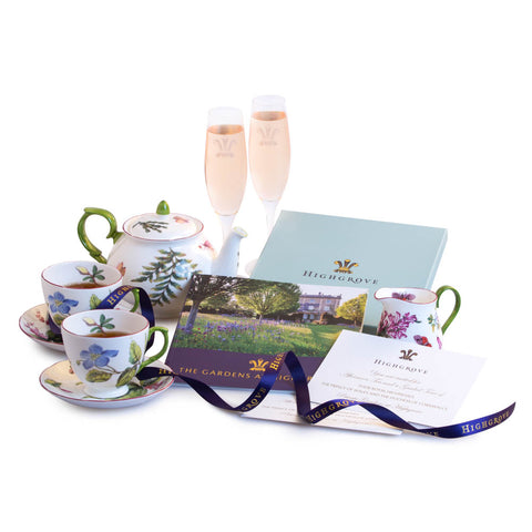 Individual Champagne Tea Tour Gift Experience for Two