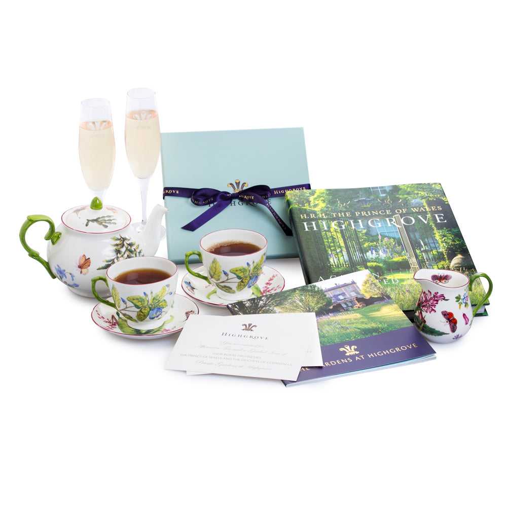 Champagne Tea Tour Gift Experience for Two, Including The Garden Celebrated Book
