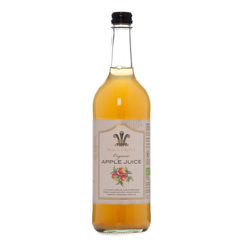 Highgrove Organic Apple Juice