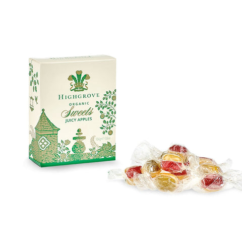 Highgrove Organic Juicy Apple Sweets