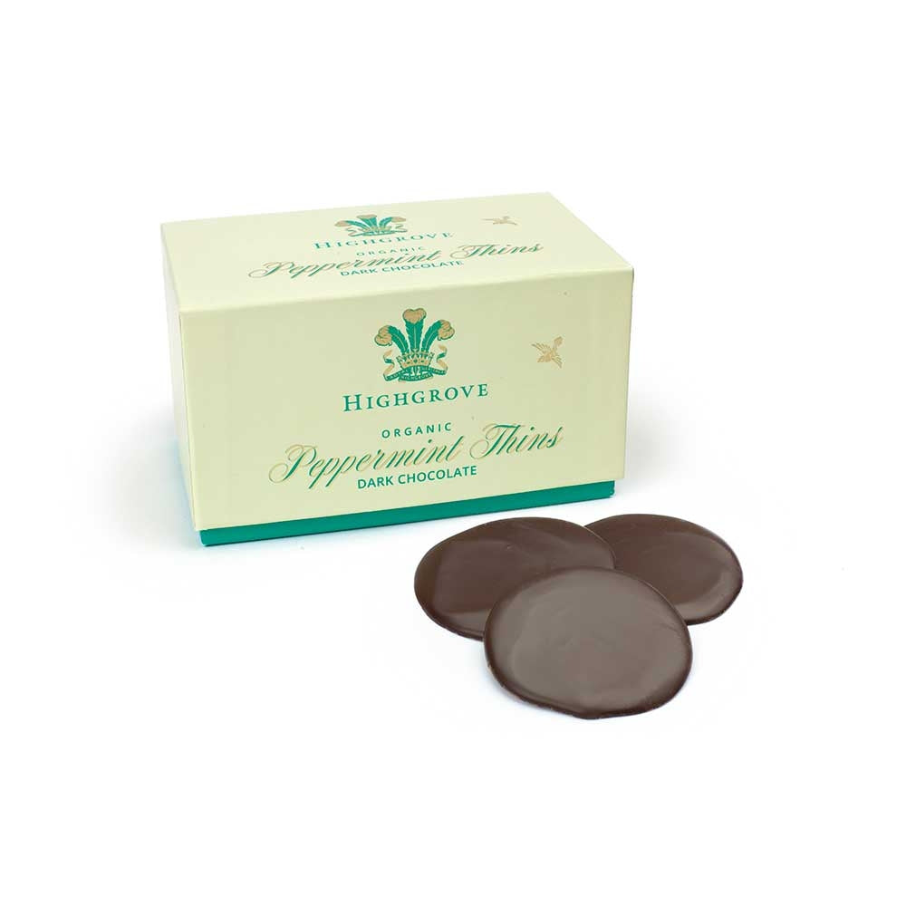 Highgrove Organic Peppermint Chocolate Thins