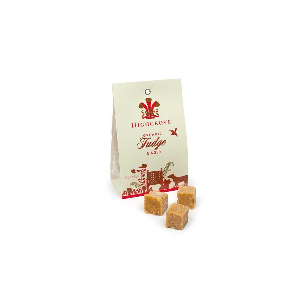 Highgrove Organic Ginger Fudge Bag
