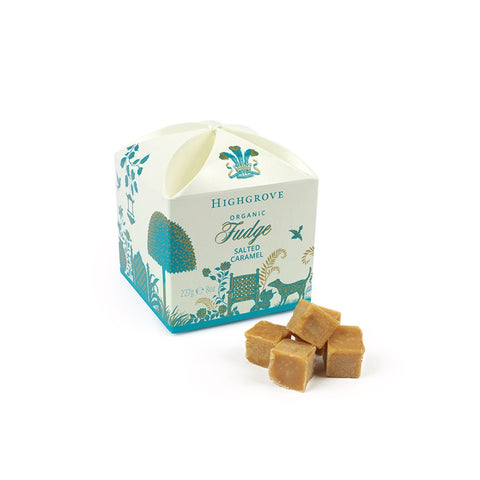 Highgrove Organic Salted Caramel Fudge Box