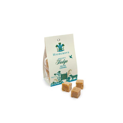 Highgrove Organic Salted Caramel Fudge Bag