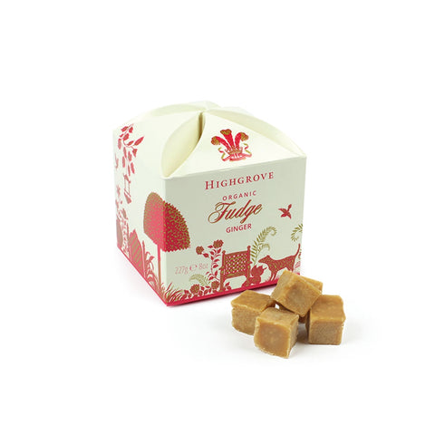 Highgrove Organic Ginger Fudge Box