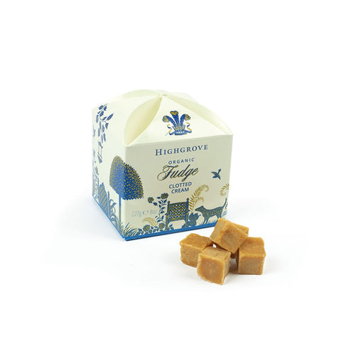Highgrove Organic Clotted Cream Fudge Box