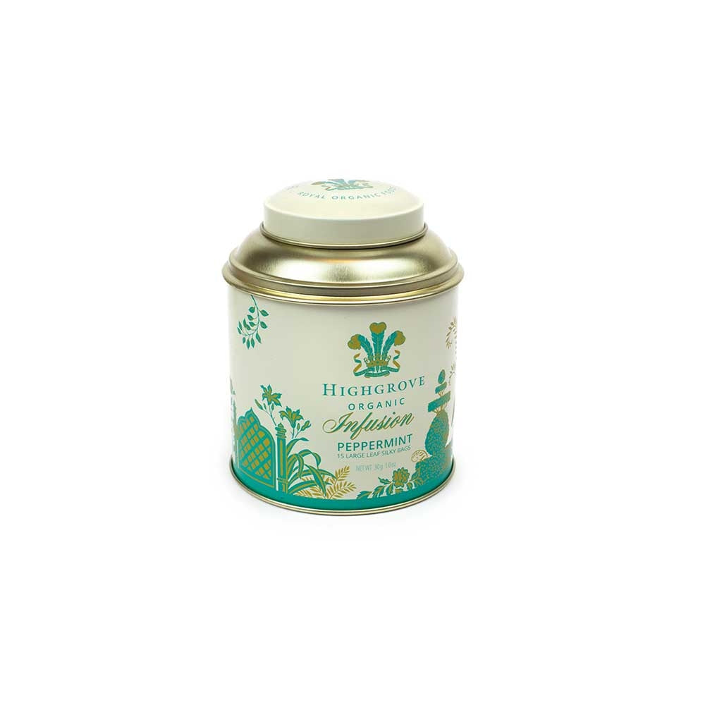 Highgrove Organic Peppermint Infusion Tin