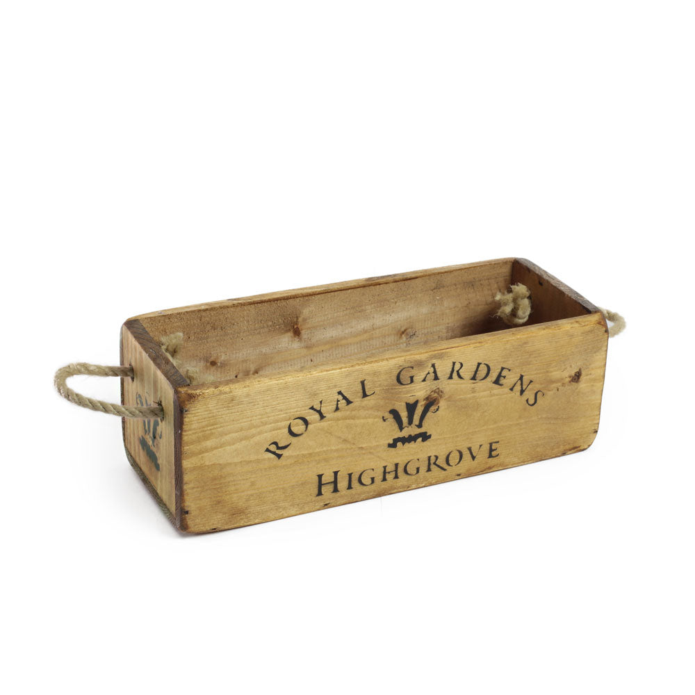 Highgrove Wooden Box