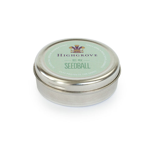 Highgrove Seedball Tins, Bee Friendly Mix