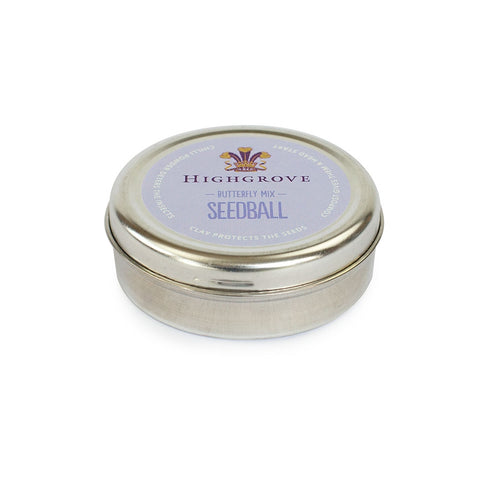 Highgrove Seedball Tins, Butterfly Friendly Mix