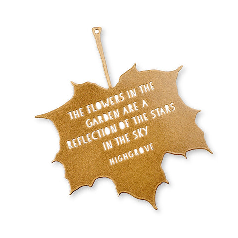 'Stars in the Sky' Decorative Leaf