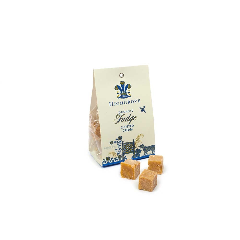 Highgrove Organic Clotted Cream Fudge Bag