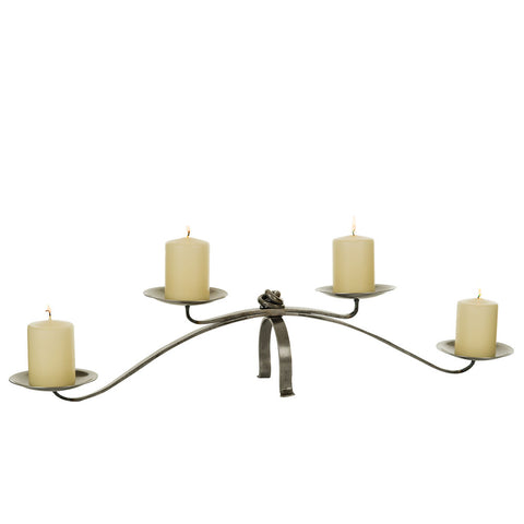 Hand-Forged Table Candle Holder