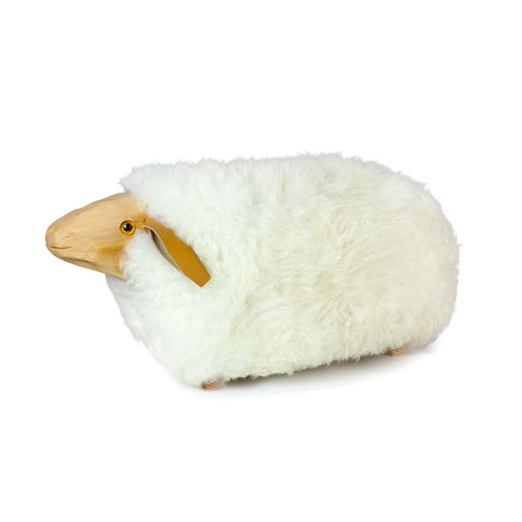 'Mavis' Sheep Footstool