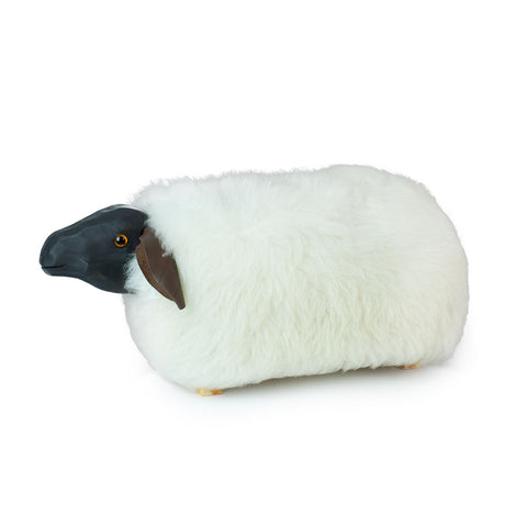 'Maud' Sheep Footstool