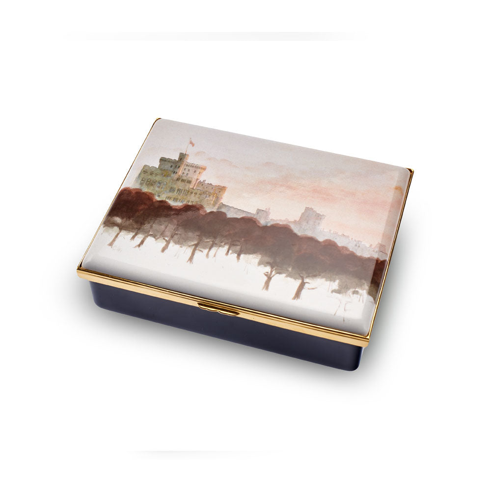 Windsor Castle Enamel Box