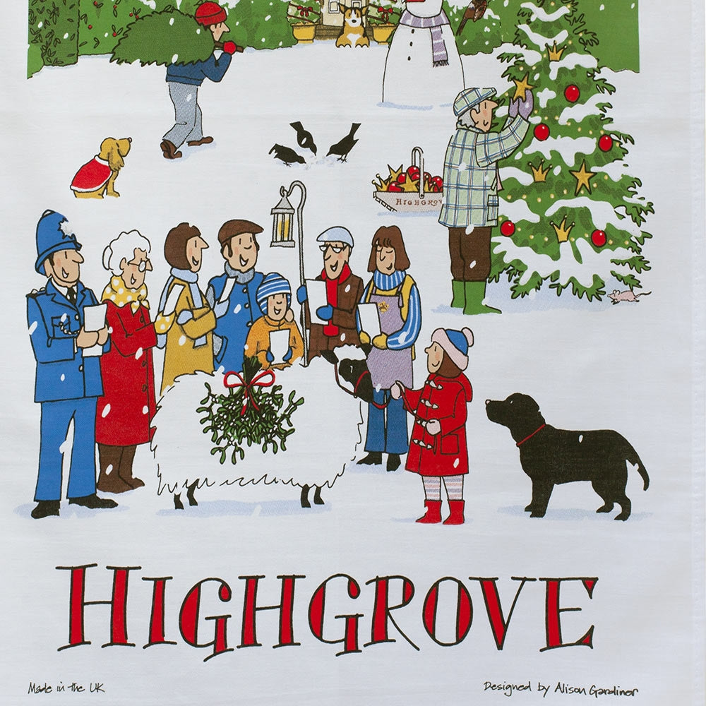 Highgrove Advent Tea Towel