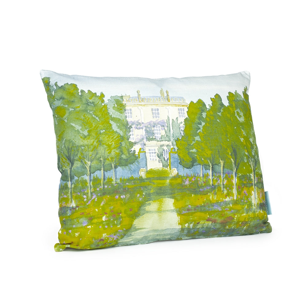 Highgrove House Watercolour Cushion