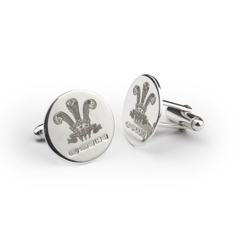 Highgrove Sterling Silver Cufflinks
