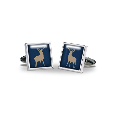 Navy Stag Cufflinks