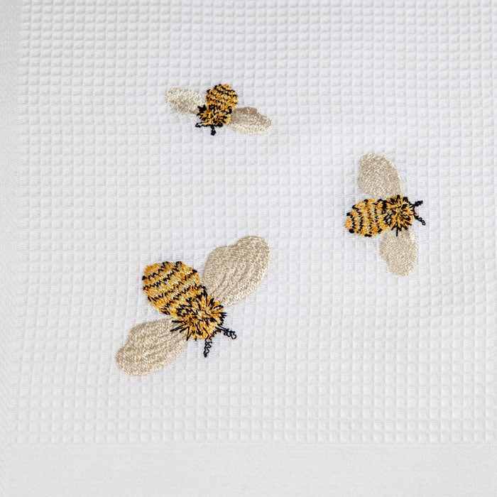 Triple Bee Tea Towel