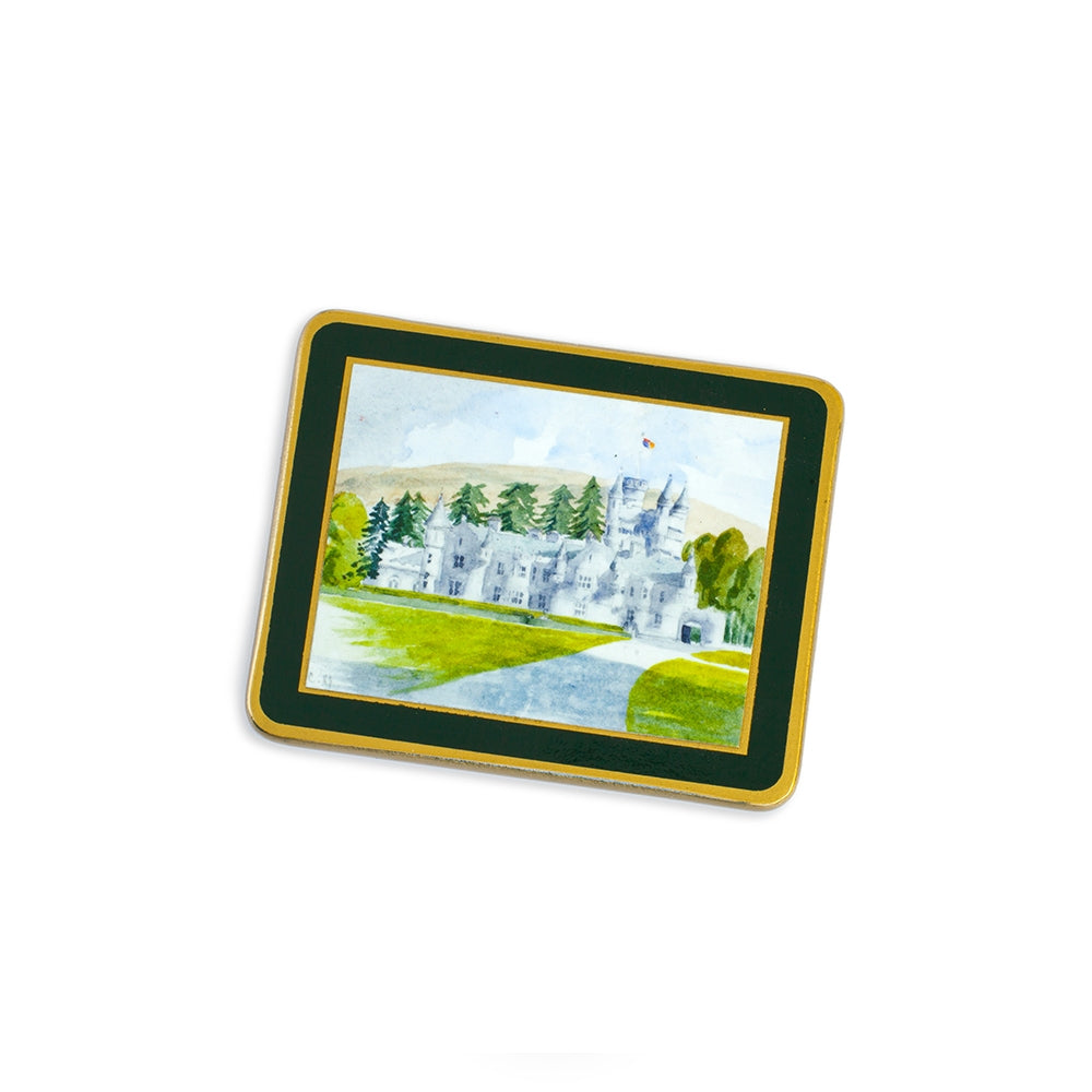 Royal Residences Coasters - Set of four