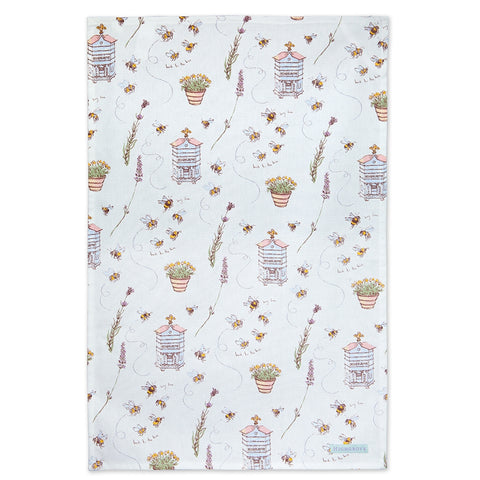 Highgrove Bees Tea Towel