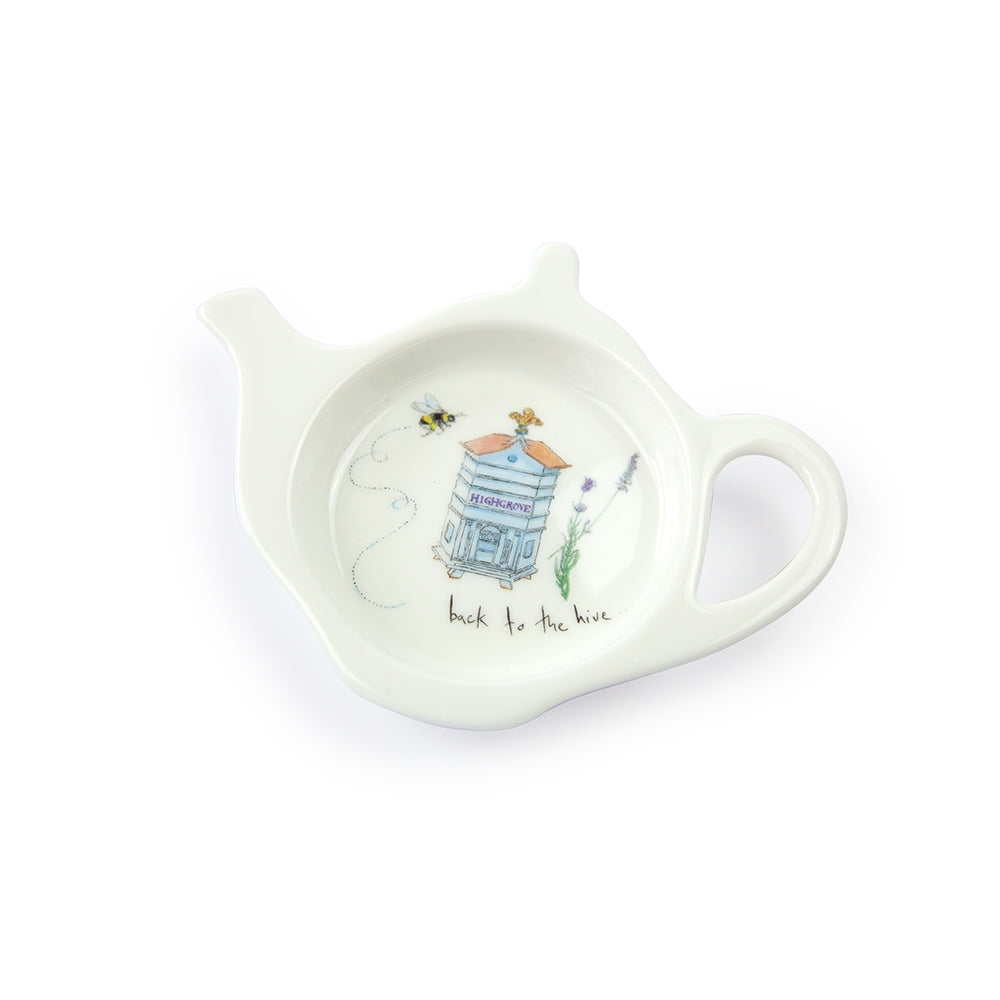 Highgrove Bees Tea Bag Tidy