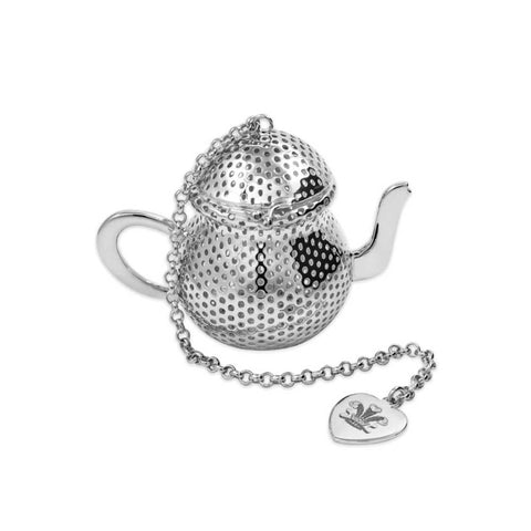 Silver Plated Teapot Tea Infuser