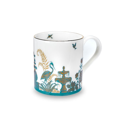 Royal Gardens Jade Fine Bone China Mug