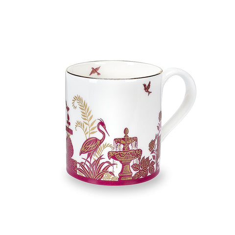 Royal Gardens Pink Fine Bone China Mug