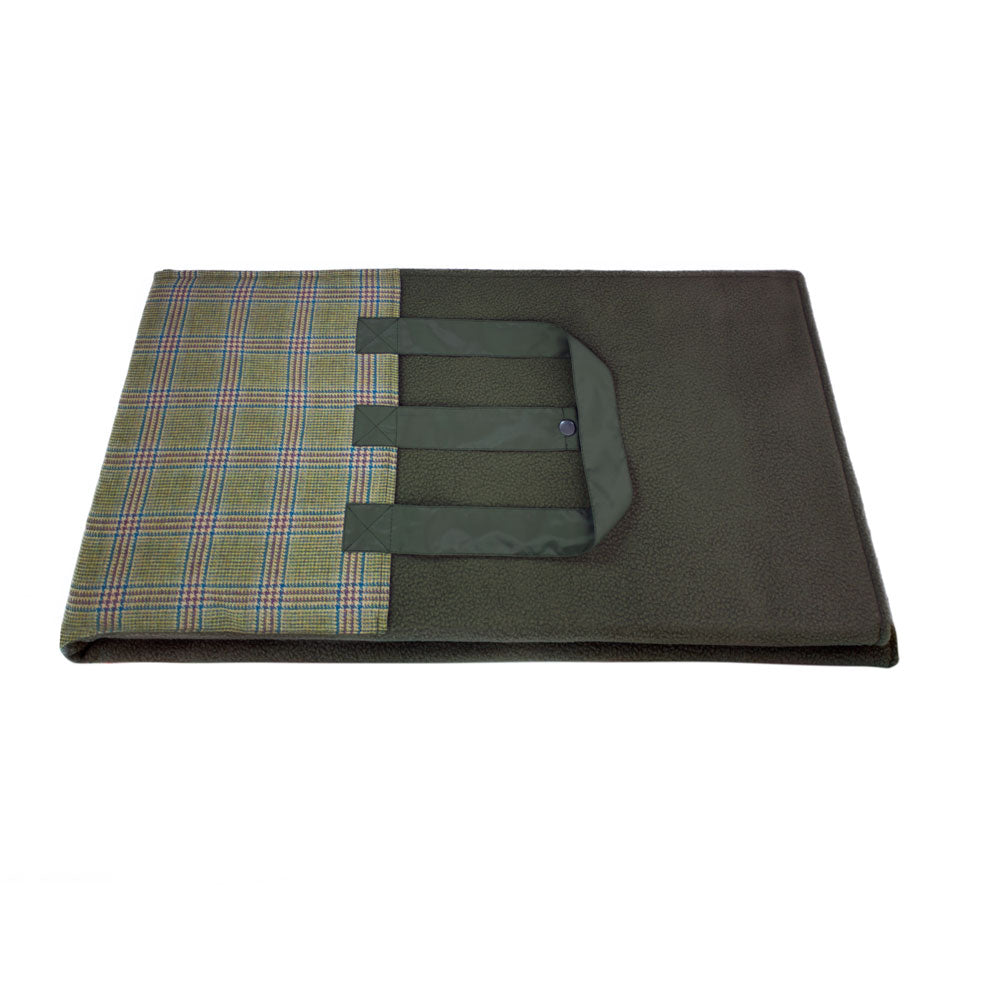 Prince of Wales Check Picnic Rug