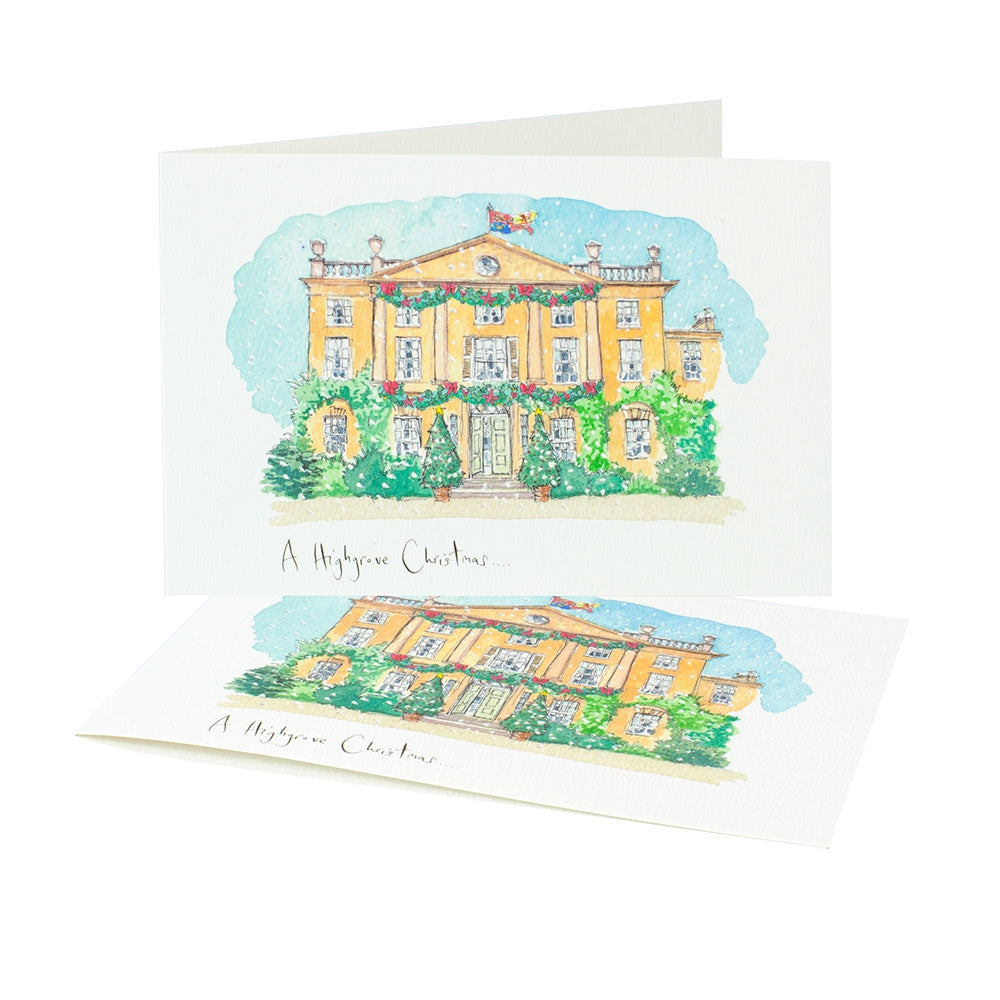 'Highgrove Christmas' Christmas Cards (Pack of 10)