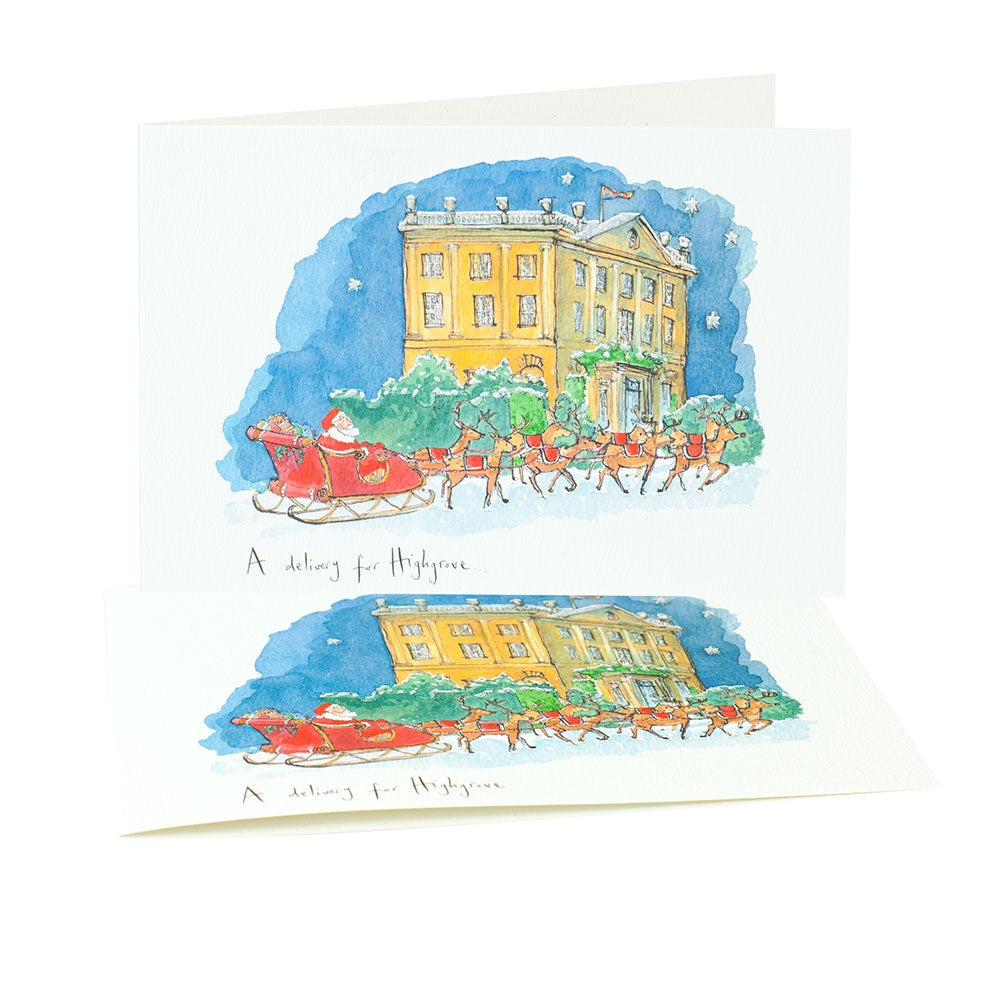 'Delivery For Christmas' Christmas Cards (Pack of 10)