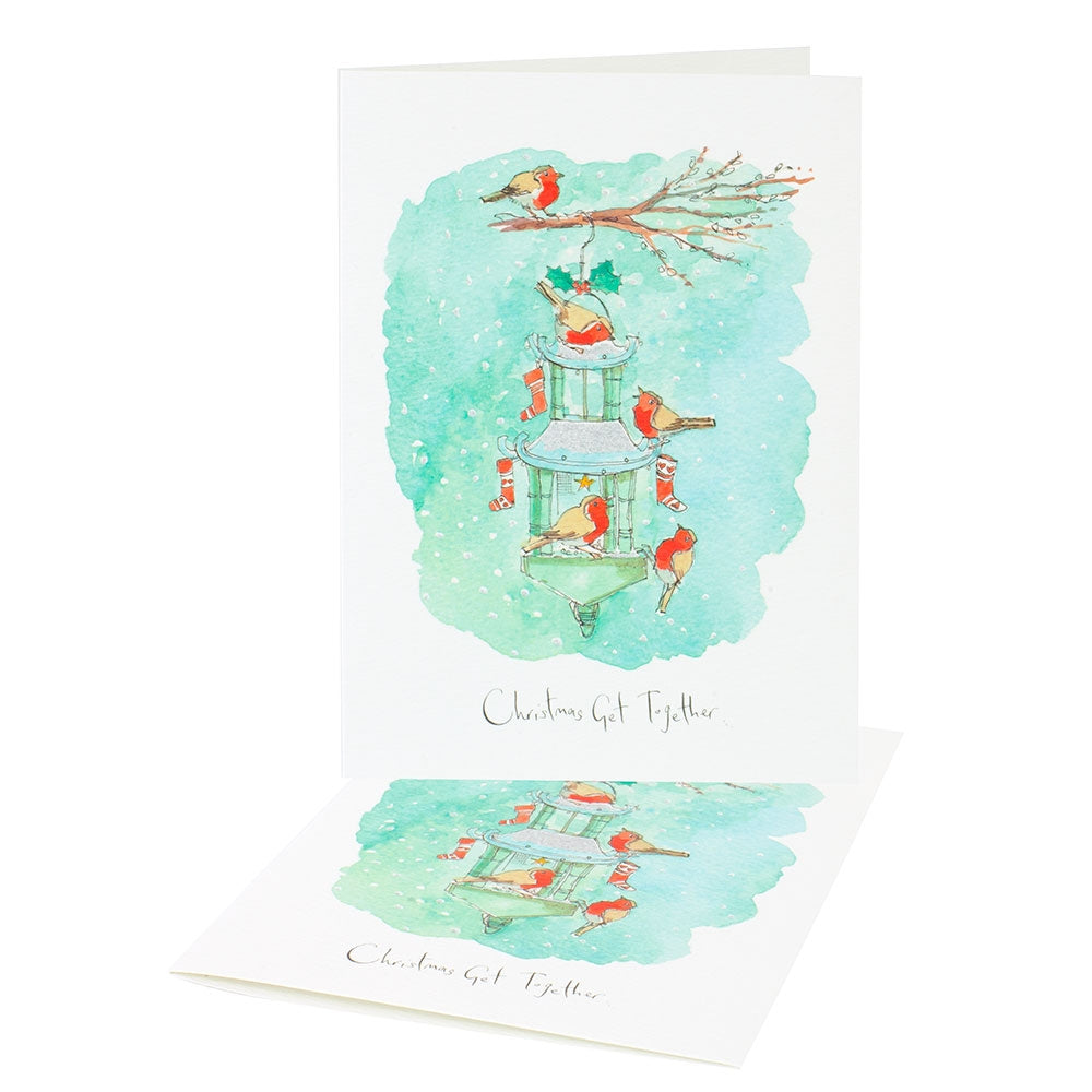 'Christmas Get Together' Christmas Cards (Pack of 10)