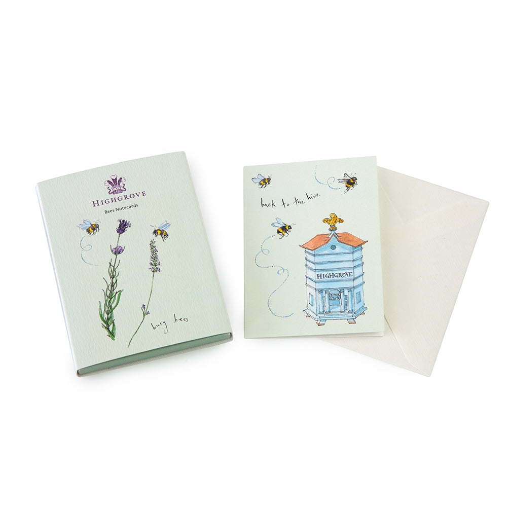 Highgrove Bees Mini Notecard Set